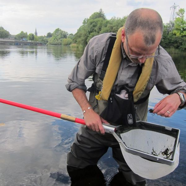 Will with crayfish in lough gill