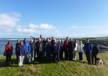 Heritage Training field trip around Easkey October 2014  - delivered by Woodrow