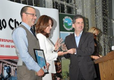 Woodrow receives environment  heritage award