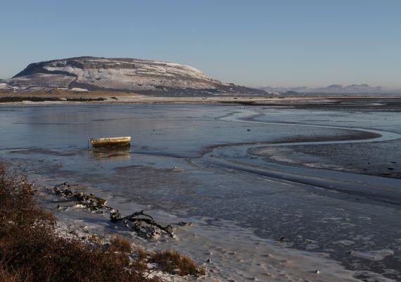 Ballisodare bay (sligo) in winter