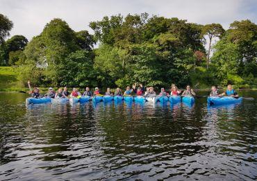 Team Day  out June 2021 Kayaking Sligo