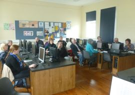 Woodrow delivers easkey heritage course 4