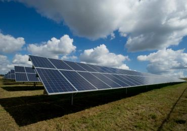 Ground mounted solar farm denmark